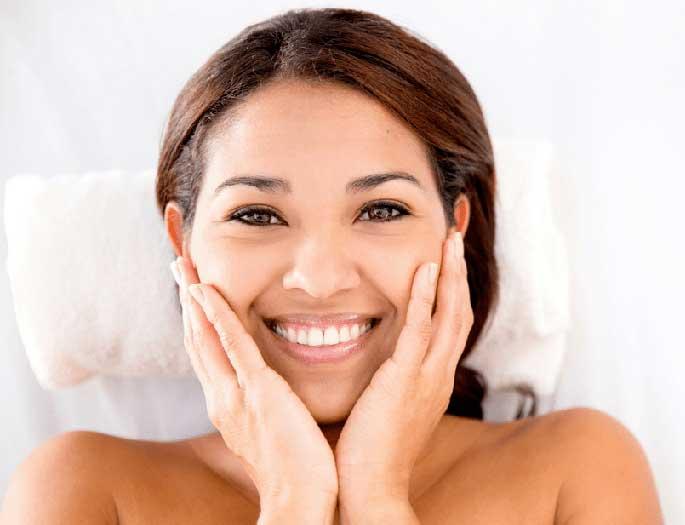 PRP Facial: healthy glow and facial volume.